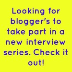 *New Series* Blogger's Corner