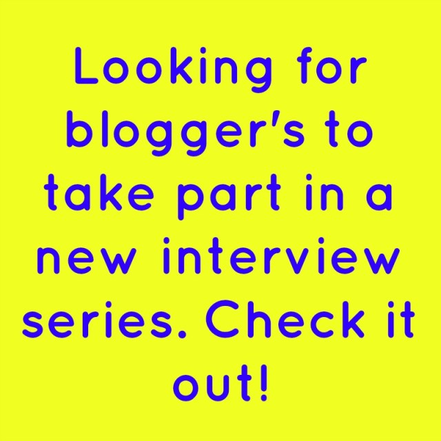 *New Series* Blogger's Corner