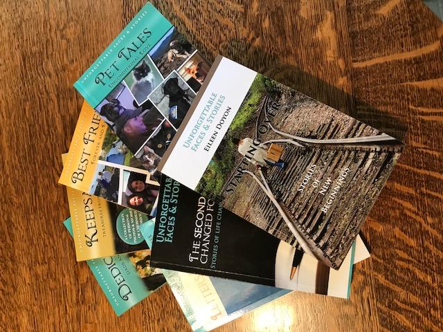 Assortment of Eileen Doyon's books