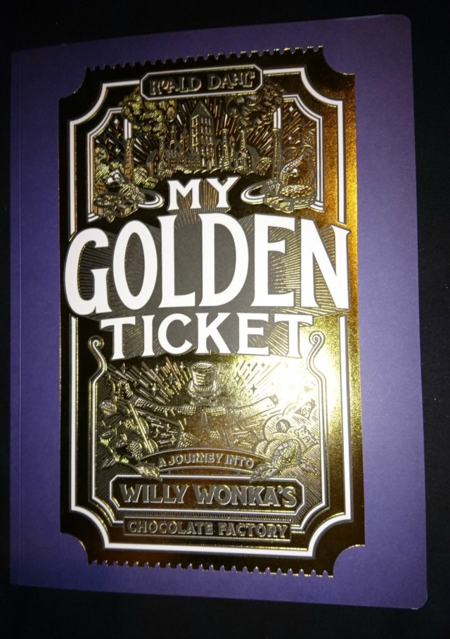 My Golden Ticket book cover