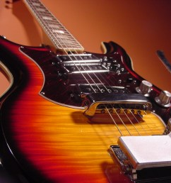 vintage 1960 s silvertone mosrite electric guitar [ 1024 x 768 Pixel ]