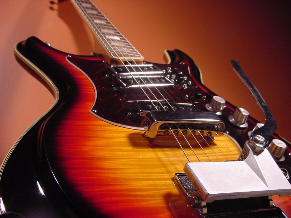 medium resolution of vintage 1960 s silvertone mosrite electric guitar