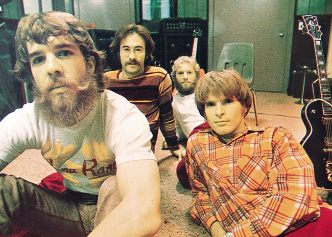 CCR with the Kustom Amp in the background