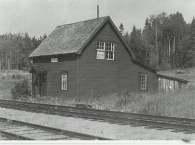 Myra station in the early days.