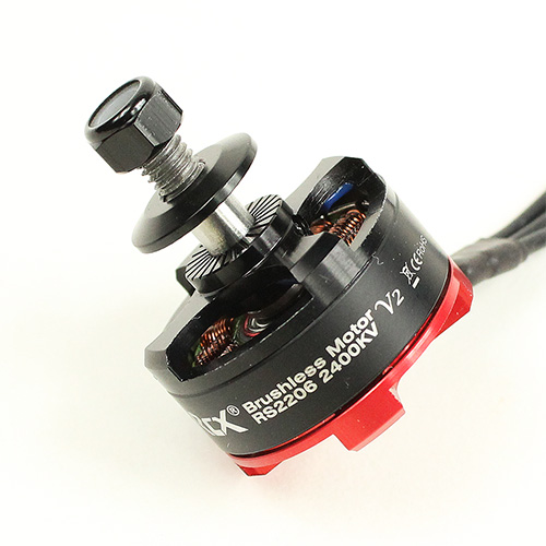 RCX07515 : RCX RS2206 (V3) 2400KV FPV Racing Motor (Japan EZO Bearing  N52SH Arc Mag