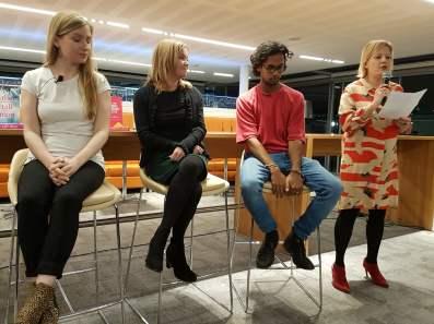 Phoebe Locke, Karen Hamilton, Guy Gunaratne, Georgina Moore