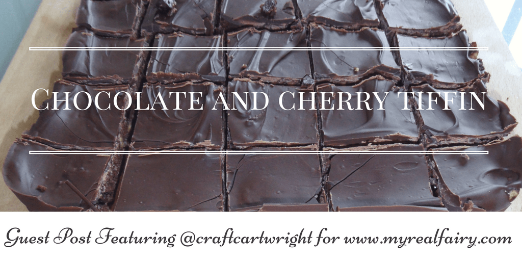 chocolate and cherry tiffin