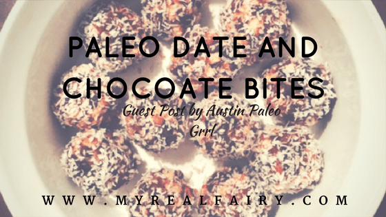 Paleo Date and Chocolate Bites