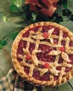 Beautiful Lattice Cherry Pie