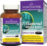 New Chapter Zyflamend Whole Body, with Turmeric and Ginger - 120 ct