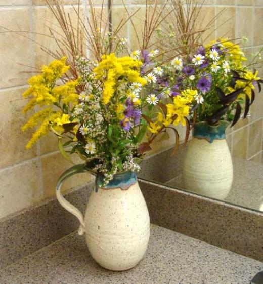 Washroom Flowers