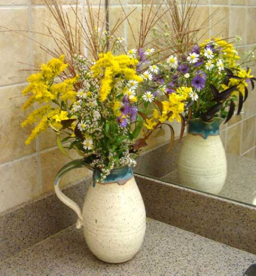 Washroom Flowers