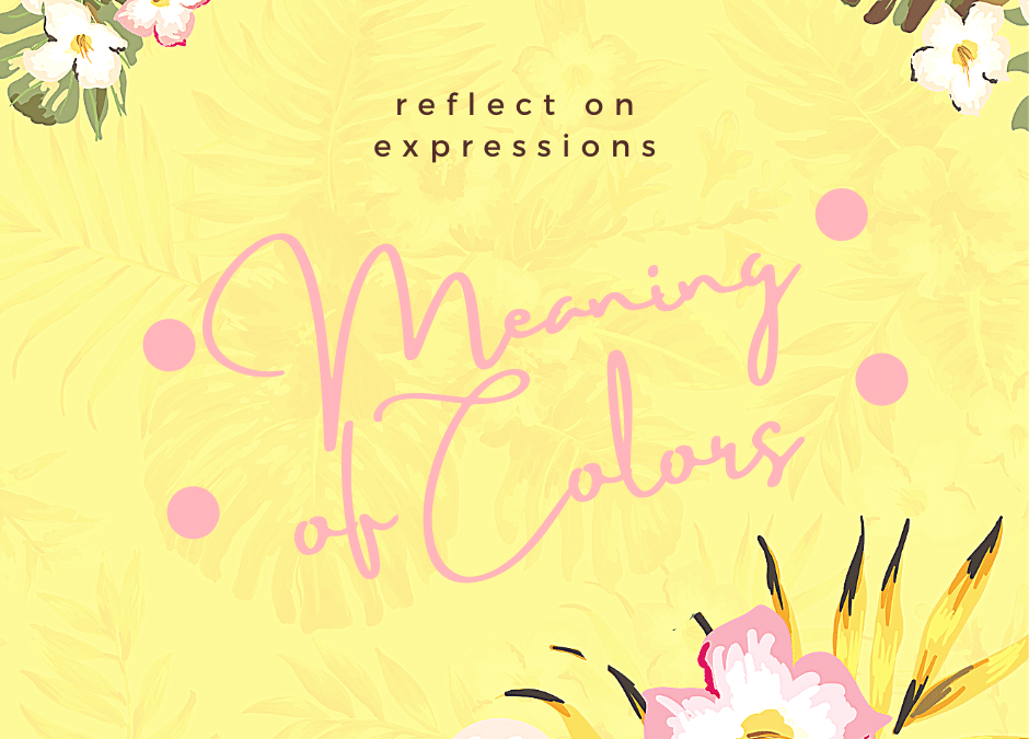 meaning of colors title page