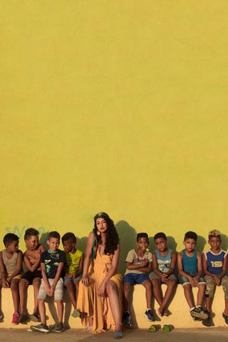 Sesión de fotos para la cantante Cassandra Nuñez