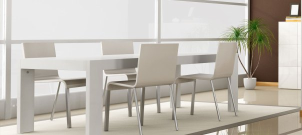 Miami Collection The Chic Simplicity Of Dining Room Set