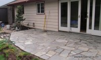 New flagstone patios and stonework of all types, with ...