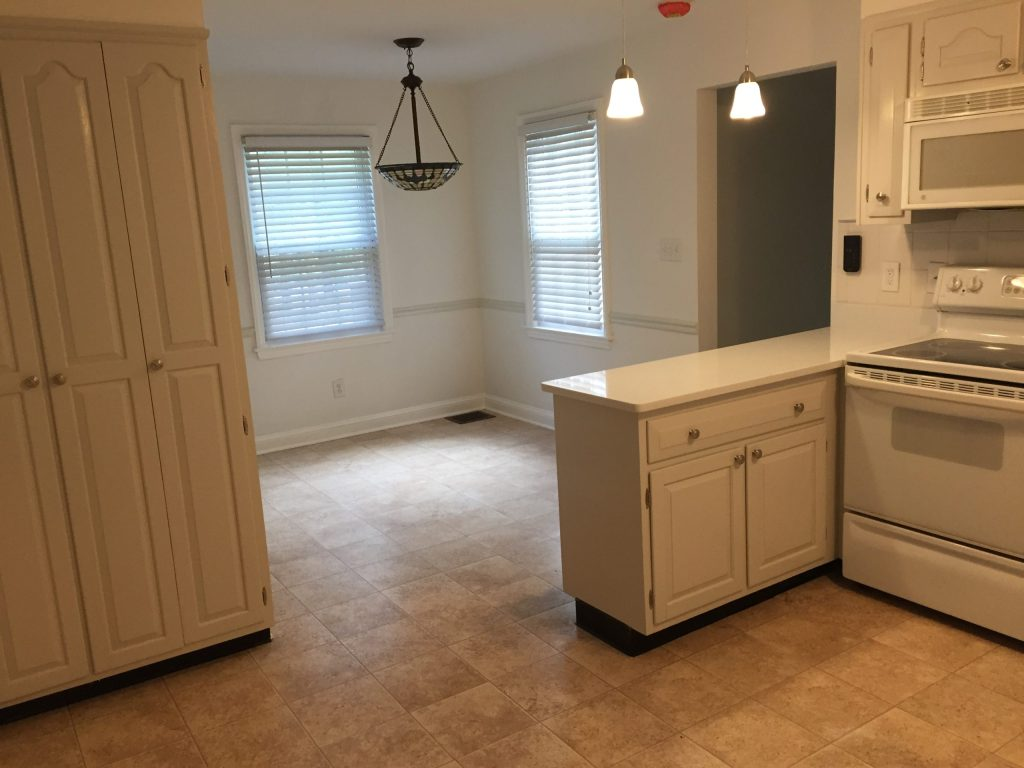 Kitchen / Dining Room in Rent-to-own Home at 11101 Glen Arm Road, Glen Arm, MD 21057