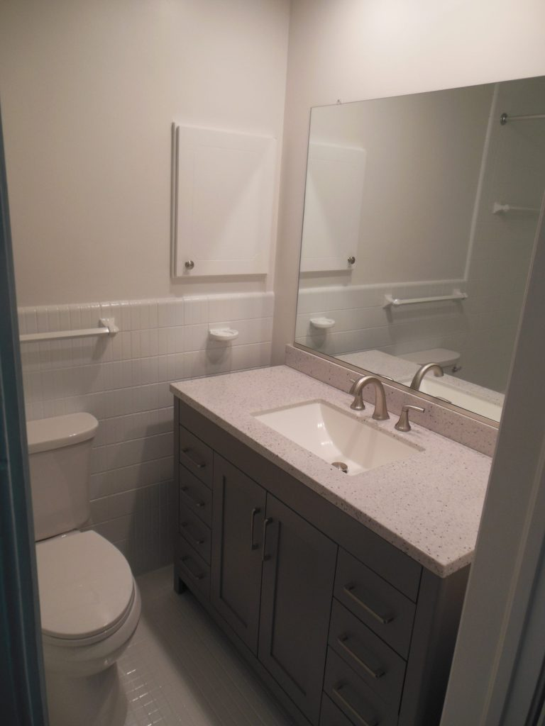 Master Bathroom in Rent-to-Own Home at 11101 Glen Arm Road, Glen Arm, MD 21057