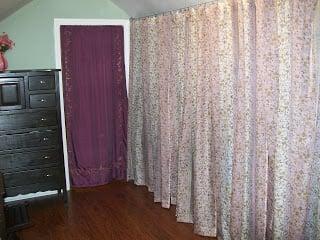 messy attic closet solution