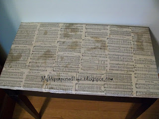 piano bench makeover