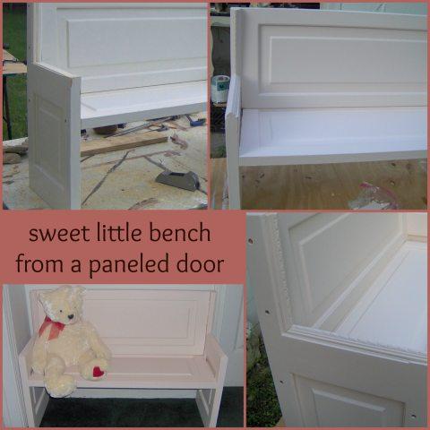 paneled-door-bench