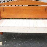 Full Headboard Bench
