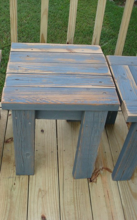 easy diy reclaimed lumber table