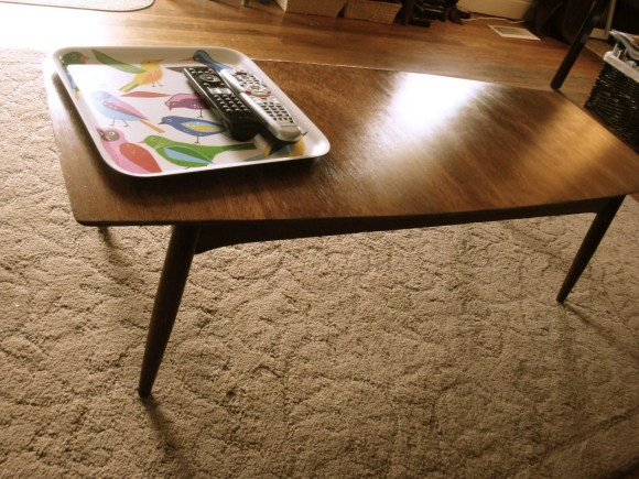 My Repurposed Life-Mid Century Modern Coffee Table Makeover