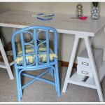 Guest Post Sawhorse Desk by