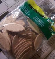 wooden biscuits crafts