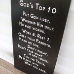 God's Top 10 Subway Art