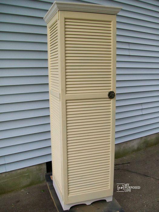 Outdoor Shutter Decor