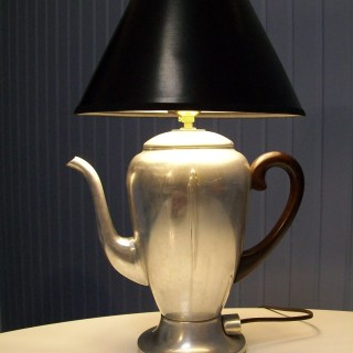 repurposed coffee pot