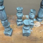 Decorative Finials from Bed Parts