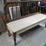 Jenny Lind Bed Bench