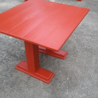 diy kids table for corner bench