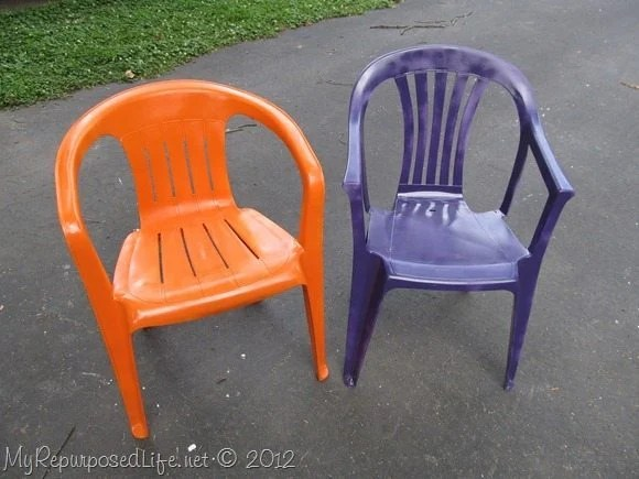 Surprising Spray Paint Plastic Chairs Ibusinesslaw Wood Chair Design Ideas Ibusinesslaworg
