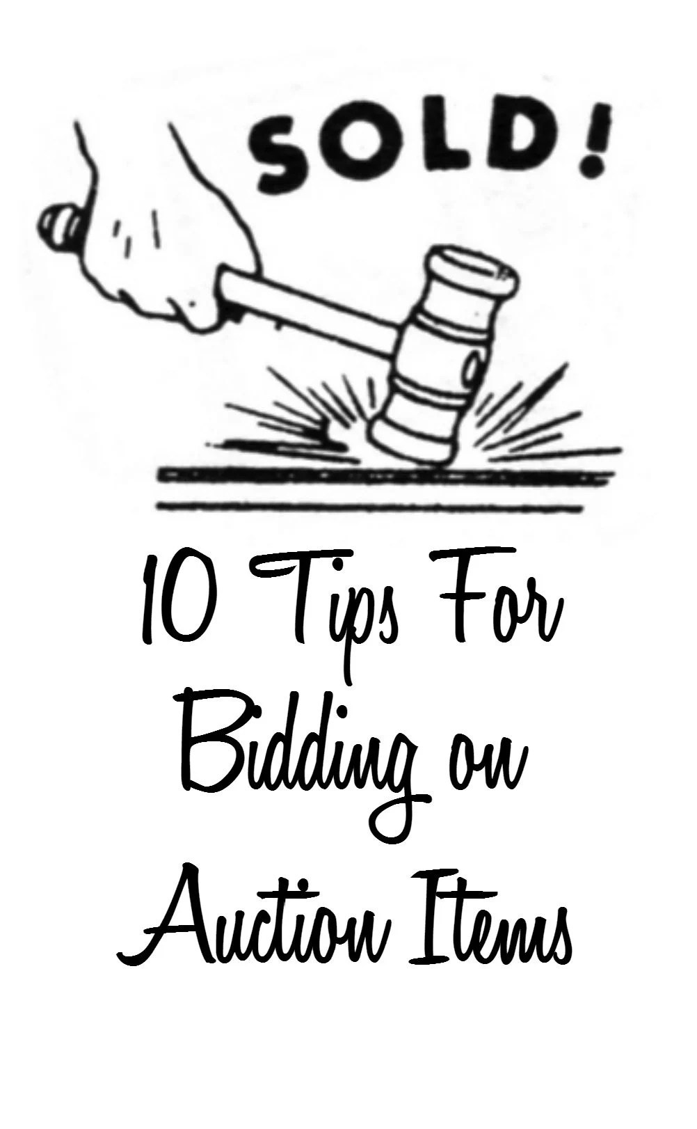 Auction Tips For Buyers