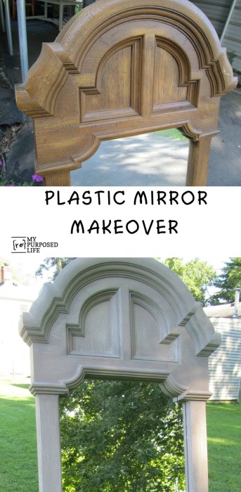 My-Repurposed-Life-plastic-mirror-chalky-paint-makeover