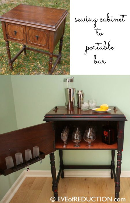 repurposed-sewing-cabinet-portable-bar