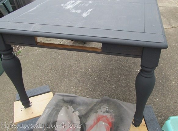 diy chalk paint plaster of paris