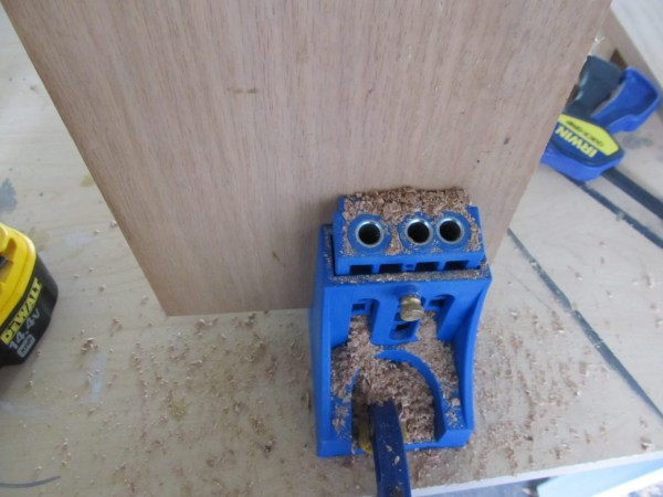 Kreg Jig to make pocket holes