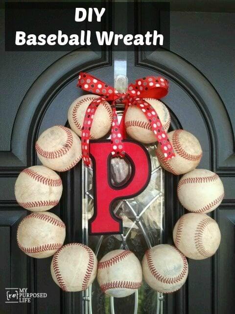 MyRepurposedLife-DIY-Baseball-Wreath