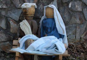 Nativity set from Kitty Wall