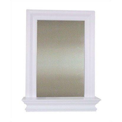 Stratford Wall Mirror with Shelf