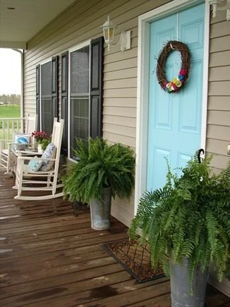 pretty front porch