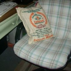 Swivel Chair Jargon Antique Folding Rocking Value How To Reupholster An Office {guest Post} - My Repurposed Life®
