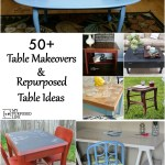repurposed table ideas