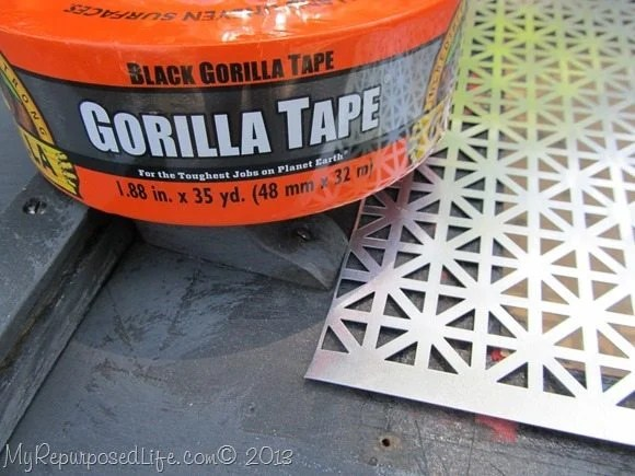 Gorilla Tape is great for holding things in place