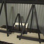 How to Make Small Display Easels